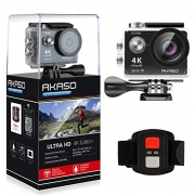 AKASO Action Cam EK7000 Ultra HD 4K 12MP wasserdichte Action Kamera