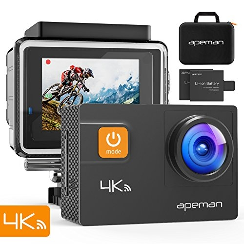 APEMAN 4K 20MP WIFI Wasserdichte Unterwasser Action Kamera