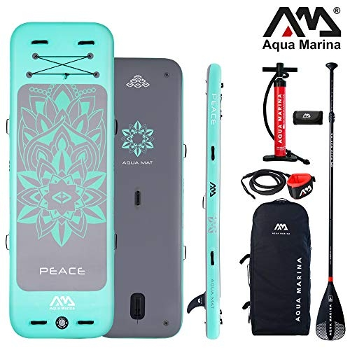 Aqua Marina Peace 9'9″ 300cm Mat Yoga Inflatable Stand Up Paddelboard iSUP SUP 2019