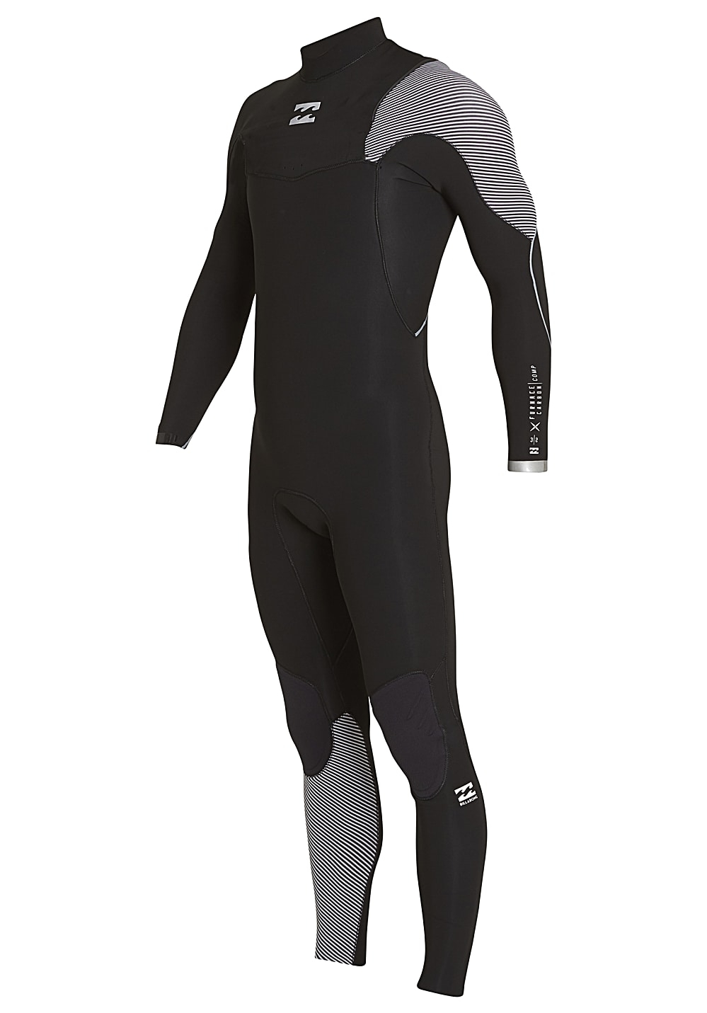 Billabong Furnace Carbon Comp 4/3 Chest Zip Full Suit 2019