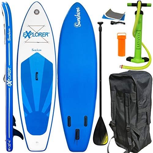 Explorer Sunshine SUP Stand Up Paddle Board Set