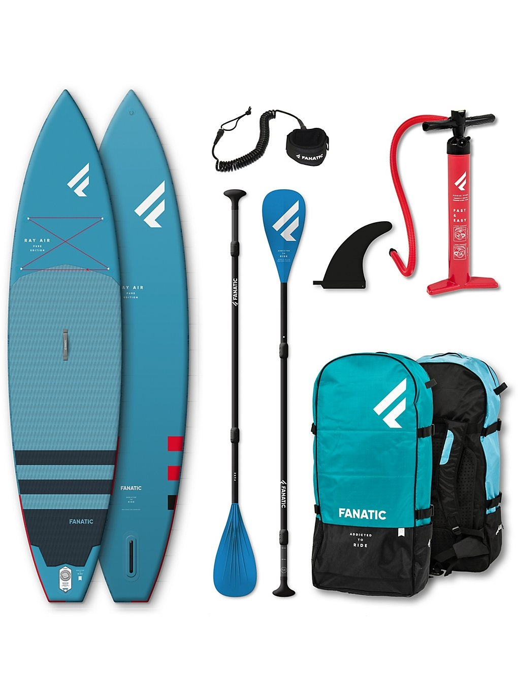 Fanatic Ray Air Premium 12'6″ SUP Stand Up Paddle Board 2019