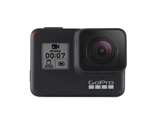 GoPro HERO7 Black wasserdichte digitale Actionkamera mit Touchscreen, 4K-HD-Videos, 12-MP-Fotos