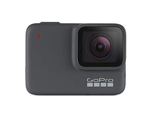 GoPro HERO7 Silver wasserdichte digitale Actionkamera mit Touchscreen, 4K-HD-Videos, 10-MP-Fotos