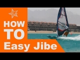Windsurf Tutorial Easy Jibe oder Carve Jibe – Powerhalse