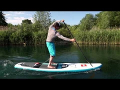 SUP Paddling Using Your Core Muscles