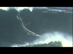 Garrett McNamara 27 Meter Welle in Nazare