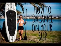 Gleichgewichts-Tipps beim Stand Up Paddle Boarding