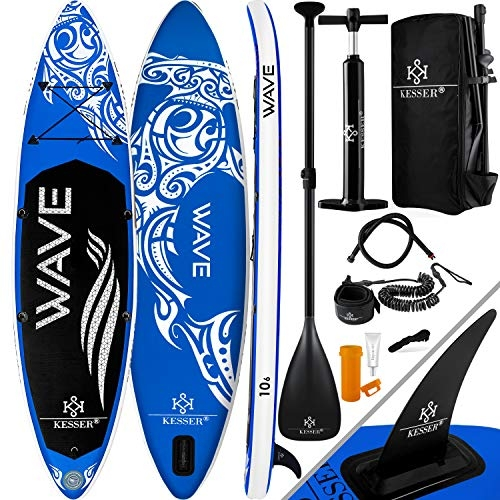 Kesser SUP Board Set Stand Up Paddle Board 366x76x15cm 12'0″