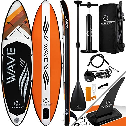Kesser SUP Board Set Stand Up Paddle Board 380x76x15cm 12'6″