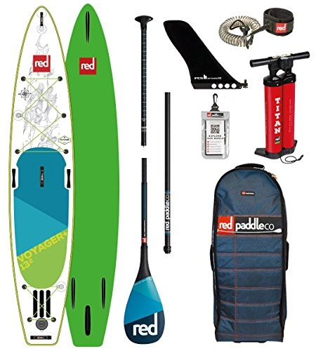 Red Paddle Co Voyager Inflatable Stand Up Paddle Board 2018