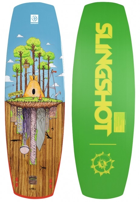 Slingshot Shredtown Wakeboard 2018